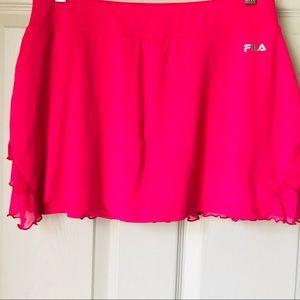 Fila pink tennis sports skort shorts